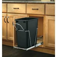 kitchen cabinet garbage can free standing trash can cabinet free standing trash can cabinet