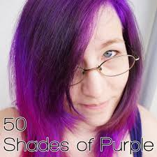 Purple Shades by Fifty Shades Of Purple Citrus Glitter