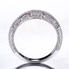 solid 10k white gold natural 16ct diamonds round engagement