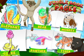 jungle book coloring pages android apps google play