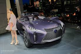 lexus concept coupe lexus ux concept looks out of place at 2016 paris motor show