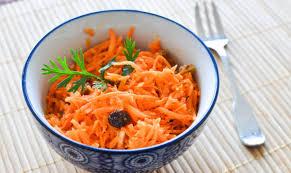 cuisine orientale facile recette salade de carottes à l orientale la salade de carottes