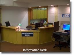 Library Reference Desk Robert J Kleberg Public Library Reference Information Services