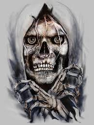 Halloween Skull Drawings Skulls Skull Skulls Pinterest Tattoo Grim Reaper And
