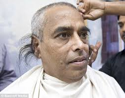 when a guys tuck hair ears means pictured the man with the world s longest ear hair daily mail