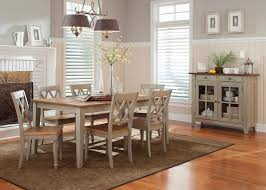 rectangular dining room tables rectangle casual dining table with driftwood u0026 taupe finish