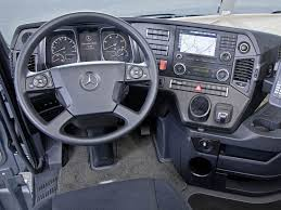 mercedes dashboard mercedes benz comes with new design actros and arocs heavy