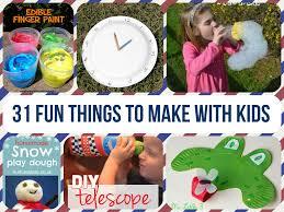 31 fun crafts to make with kids