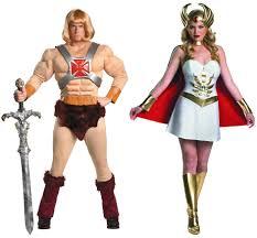 80s Halloween Costumes Men Couples Man Ra Costumes Masters Universe