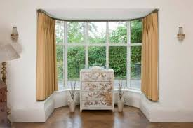 Window Curtains Rods Good Bay Window Curtain Rods Wearefound Home Design