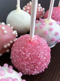 Cake Pop Decorations For Baby Shower It U0027s A Baby Shower Dessert Adorable Girly Cake Pops Lets