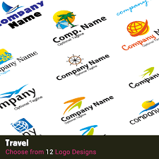Travel logos 9 digital affordable wordpress websites