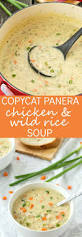 copycat panera chicken and wild rice soup recipe wild rice