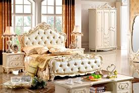 Cream Bedroom Furniture Sets by High Quality Leather Beds Buy Cheap Leather Beds Lots From High
