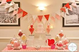 Pink Wedding Candy Buffet by Southern Blue Celebrations Pink Candy Dessert Tables