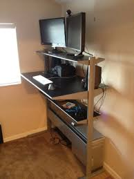 stand up l with shelves standing up at your desk insane or not blog marketing academy in