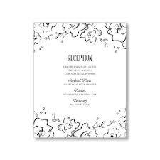 Reception Cards Wedding Enclosure U0026 Reception Cards U2013 Loinlondon