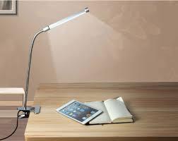 clip on bed light led flexible usb reading light clip on beside bed table desk l