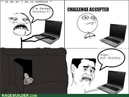 Shadowlurker Meme - never been less thirsty in my life rage comics rage comics