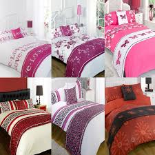 Bed In A Bag Duvet Cover Sets by Floral Animal Print Bed In A Bag Duvet Cover Bedding Set Pink