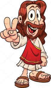 imagenes de jesucristo animado dibujos animados de jesús archivo imágenes vectoriales