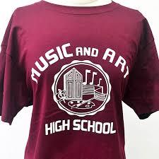 alumni tshirt t shirt logo alumni friends of laguardia