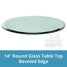 clear glass table top round glass table top clear tempered 1 2 thick glass with beveled