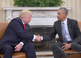 here u0027s what donald trump barack obama talked about during first