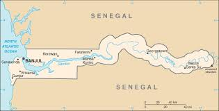 africa map gambia gambia map driving directions and maps