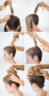 cutting hair upside down upside down braided bun bridal hairstyle hair style and makeup