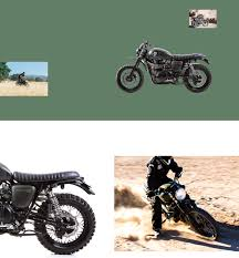 triumph motocross bike scrambler style dirt bike