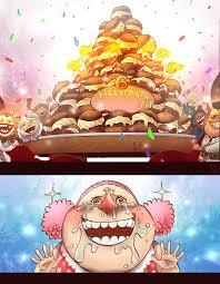 One Piece 867 Linlin U0027s Birthday Cake Colored By Eyaririri On
