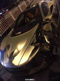 mclaren p1 concept super rare 2 million mclaren p1 totalled after crash in china