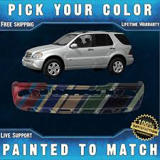 new painted to match front bumper cover 2002 2005 mercedes ml500