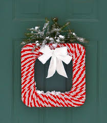 Red And White Christmas Door Decorations by Top 40 Red And White Christmas Decoration Ideas Christmas