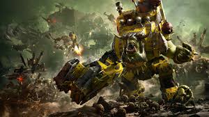 warhammer 40k war iii ork faction 4k 8k wallpapers hd