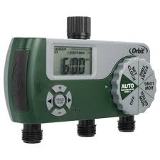 Home Depot Water Pump Orbit 3 Port Digital Hose Tap Timer 56082 The Home Depot