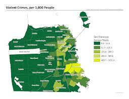 Sf Crime Map San Francisco Crime Map 2015