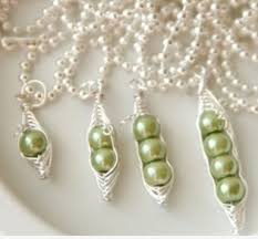Two Peas In A Pod Jewelry Peas In A Pod Necklace The Necklace