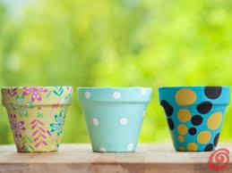 vasi decorativi realizziamo dei vasi decorativi utilizzando dei vecchi vasi in