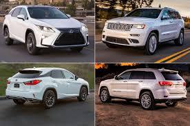 lexus rx 2017 2017 jeep grand cherokee vs 2017 lexus rx motor trend 2018 2019