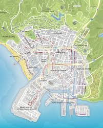 Map Los Angeles Gta V Los Santos Vs Los Angeles Gta 5 In Real Life German Map