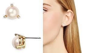 pearl earrings stud pearl stud earrings bloomingdale s