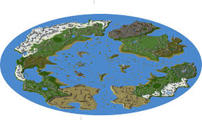 A Picture Of The World Map by Zelda Twilight Princess Minecraft Project