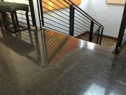 terrazzo floor with several years of mopping glow mikey s board