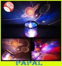 Free Shipping Solar System Nine Planets Projector L Led Night
