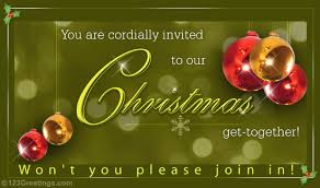 merry christmas invitation free invitations ecards greeting