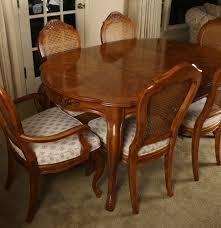 vintage drexel cabernet dining set ebth
