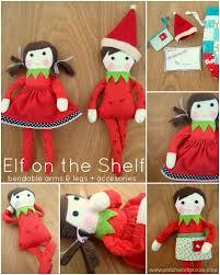 free elf on the shelf doll pattern