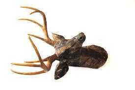 fabric deer head realtree camouflage